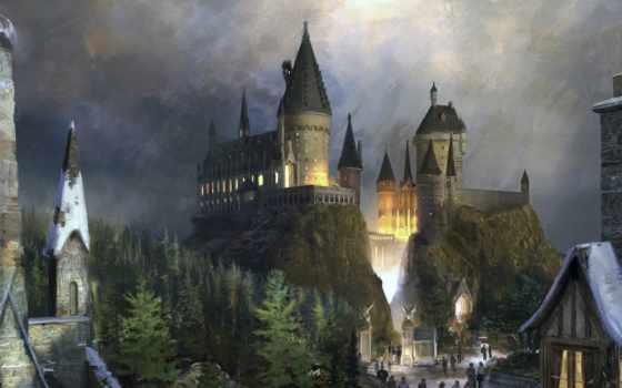 castle, hogwarts, gary, поттер, замки, фантастика,