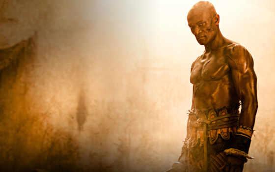 spartacus, серия, песок, кровь, гладиатор, воин,