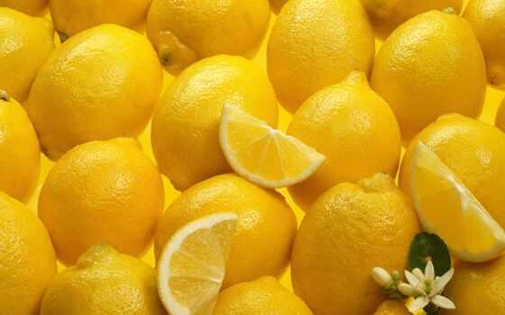 lemon, yellow, many, zheltai, meal, текстура, kais