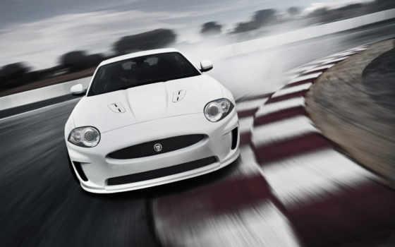 jaguar, xkr, white, cool, iphone, coupe, шоссе, кольцевая, car,