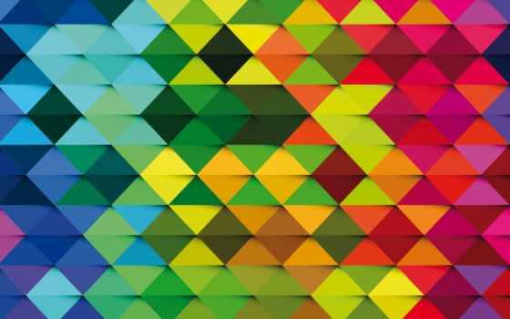 фон с треугольниками