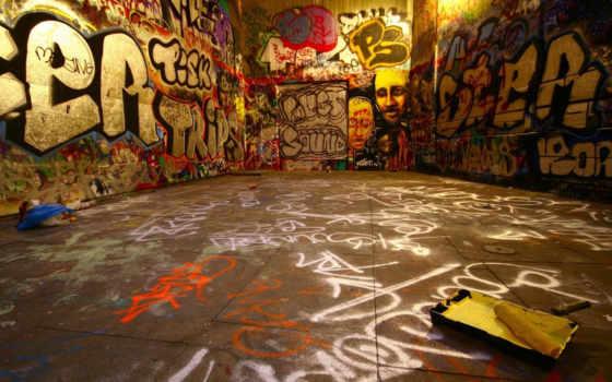 graffiti, стена, стены