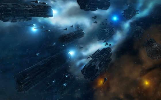 космос, космическая, война, корабли, звезды, флот, outer, корабль,