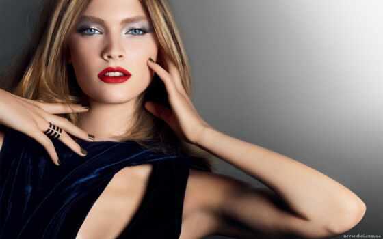стиль, красоты, макияж