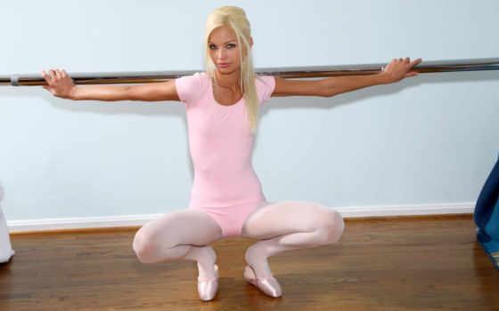 девушки, больше, категории, широкоформатные, балерина,