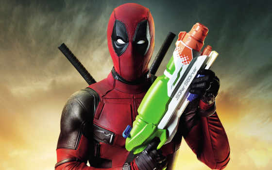 deadpool, textless, плакат