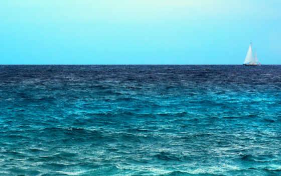 море, sailboat, страница, waves, небо, утро, морские, морских, скачиваемые, моря,