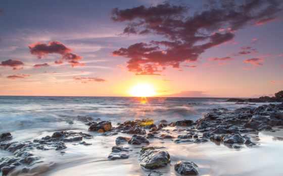 небо, samsung, ace, galaxy, природа, море, рассветы, закаты, берег, камни, памяти,