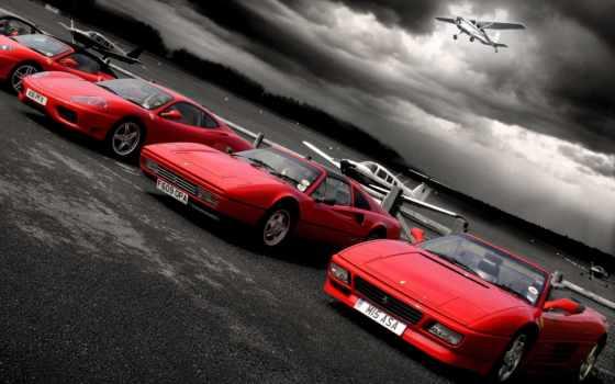 ferrari, cars, car, sports, самолеты, download, площадка, red,