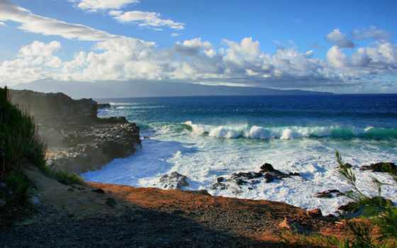 пляж, пейзажи -, water