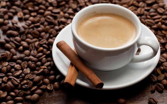 coffee, корицей, напиток