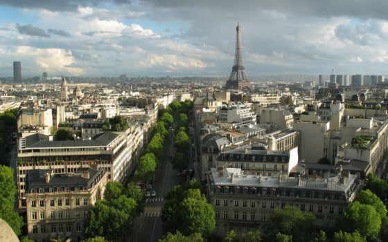 париж, франция, башня Фон № 68363 разрешение 1920x1200