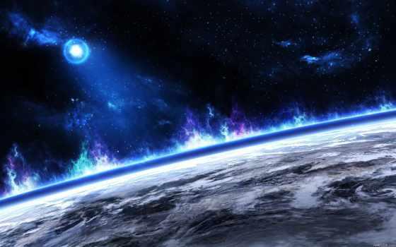 звезды, planet, land