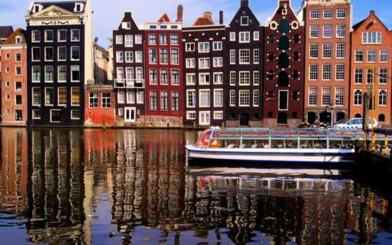 amsterdam, нидерланды, город