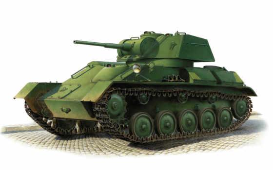 танк, soviet, easy, miniart,