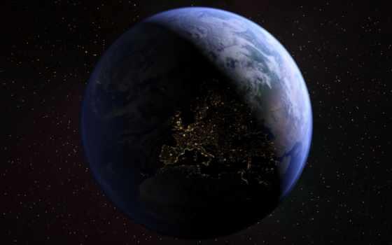 land, cosmos, гладь, звезды, planet,
