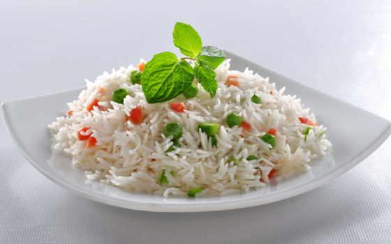 рис, овощами, диета, производить, грн, жареный, за, гр, вегетарианское,