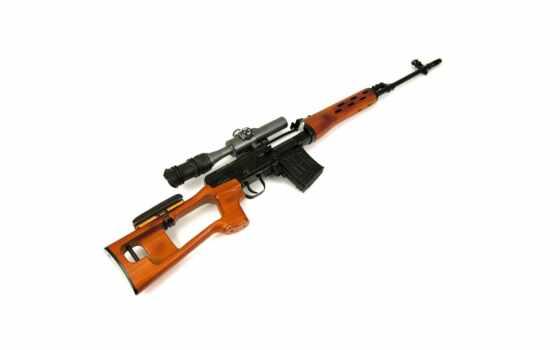 оружие, снайперская, драгунова, винтовка, свд, белый, rifles, sniper, army,