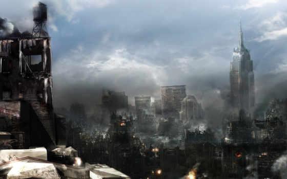 cities, разрушение
