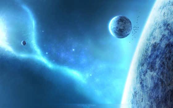 планета, космос Фон № 24539 разрешение 1920x1200