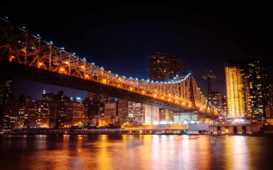 new, york, мост