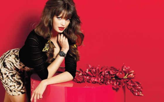 девушка, devushki, платье, guess, красавица, модель, бренды, платьях, red,