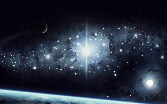 звезды, планеты, land, cosmos, гладь, свет,