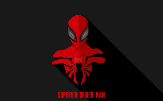 superior, паук, мужчина, marvel, spiderman,