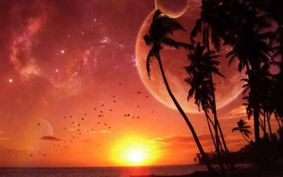 ноутбук, pinterest, abstract, akbar, planet, красивый, закат