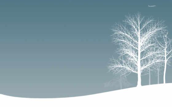 зима, настроение, минимализм