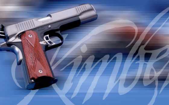 guns, pistol, пистолет, кольт, 1911, kimber
