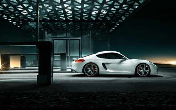 porsche, techart, cayman, studio, тюнинг, программу,