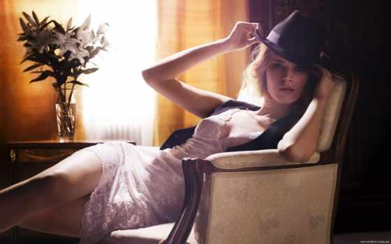 шляпе, девушка, девушки Фон № 60314 разрешение 2560x1600