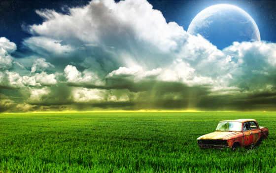 природа, луна, небо Фон № 126362 разрешение 1920x1200