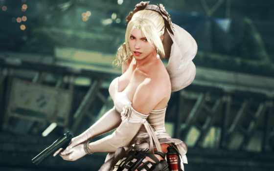 tekken, nina, williams, retribution, fated, файтинг,