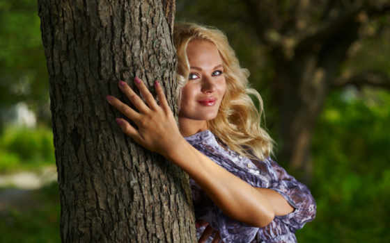 blondynka, uśmiechnięta, мар, tapety, банка, facebook,