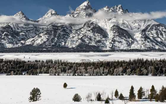 park, teton, grand, national, lucy, осень, early, christmas,