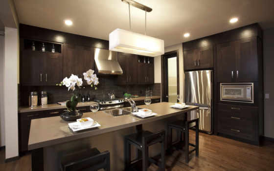 кухни, design, стиле