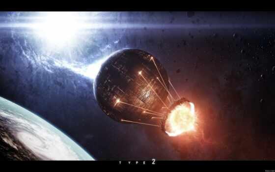 будущее, технологии, art, космос, автор, одной, откровения, нового,