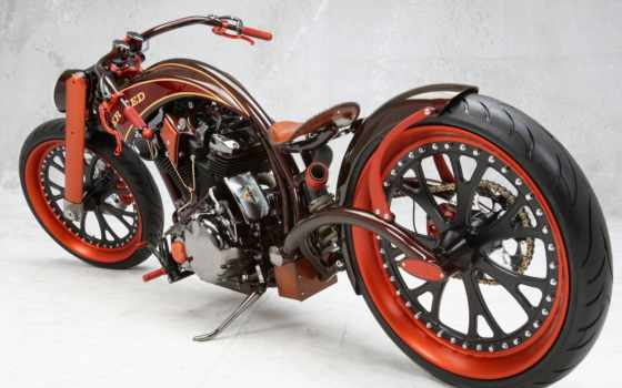 мотоцикл, тюнинг, мощ