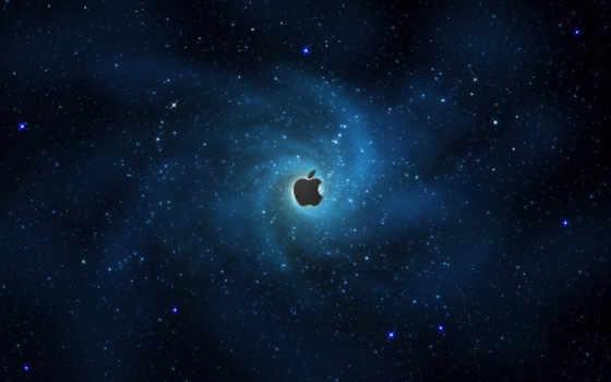 iphone, космос, fondos
