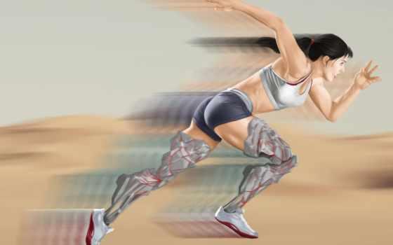 бегунок, девушка, спорт, abstract, атлетика, danliz, desktop,