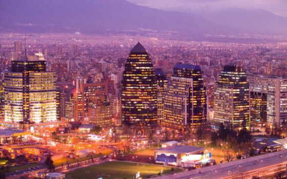 сантьяго, chile, город