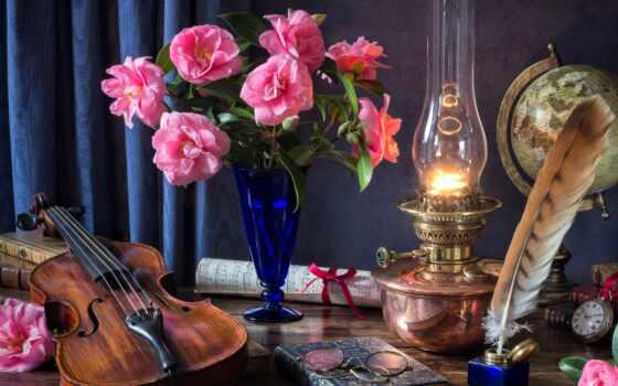 вышивка, pazlyi, скрипка, лампа, перо, схема, цветы, pp, интерьер, тег, submit