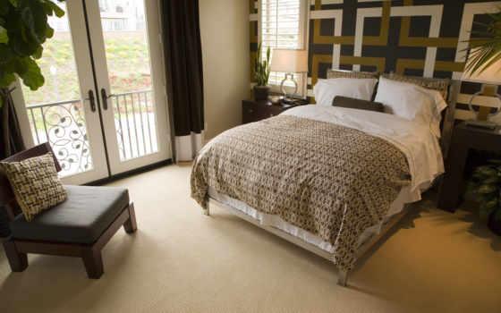 спальни, интерьер, дизайна