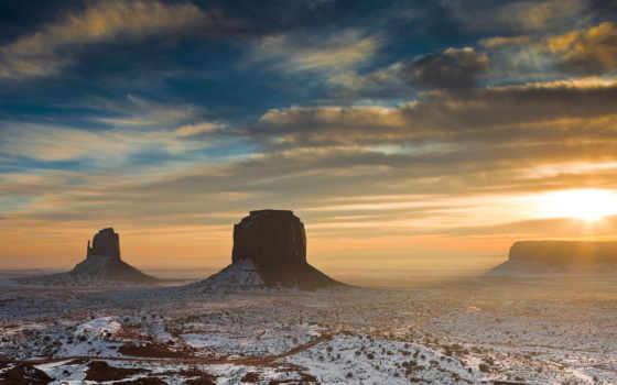 пустыня, sun, утро