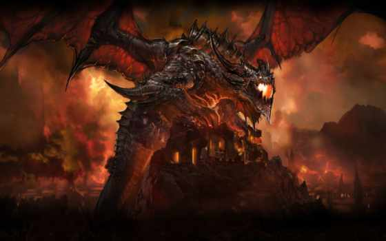 world, warcraft, cataclysm, огонь, игры, admin, one, лич, garrosh, king,