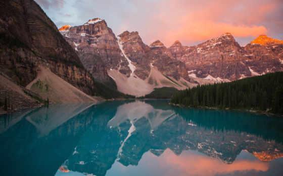 desktop, free, закат, photos, озеро, journey,