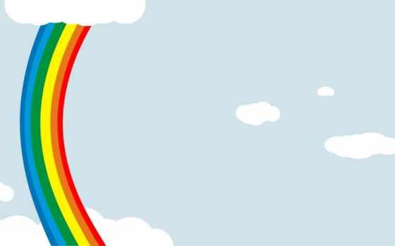 радуга, краски