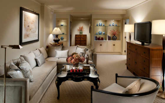 living, интерьер, комната, design, стиль, бежевая,